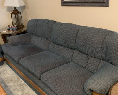 Sofa and loveseat $100.00 each, cash only