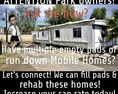 Mobile home park services