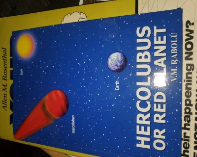 Doom and Gloom book: Hercolubus or Red Planet by VM Rabolu