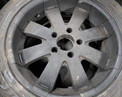 5x127 Alloy Rims with Nokian tires