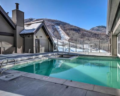 Ski-In / Ski-Out Resort Condo with Gas Fireplace! - Park City
