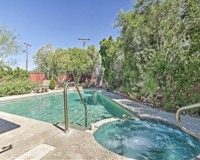 Home, Private Therapeutic Geothermal Mineral Pool! - Desert Hot Springs