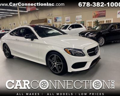 Used 2017 Mercedes-Benz C-Class C 300 Coupe