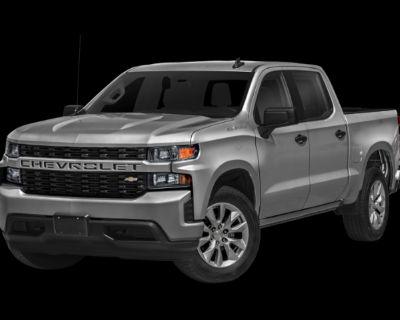Pre-Owned 2020 Chevrolet Silverado 1500 Custom 4WD