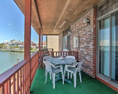 NEW! Bright Bayfront Condo w/ Fishing Dock & View! - North Ocean City