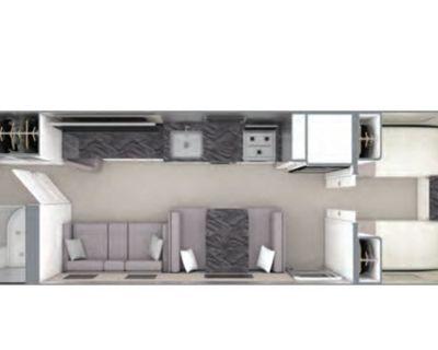 2022 Airstream Rv Classic 33FB Twin