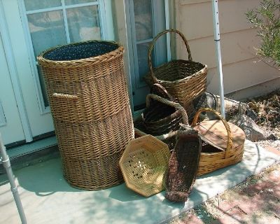 Finely made Baskets of all sizes