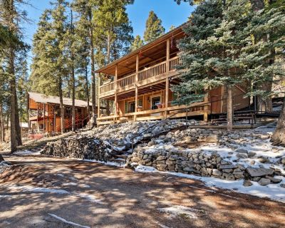 Spacious Cabin w/ Deck in Lincoln National Forest! - Bear Park