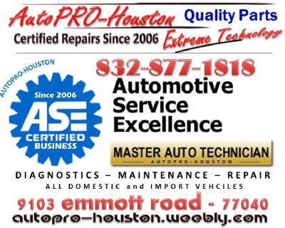 CERTIFIED Mobile Mechanics | AutoPRO-Houston