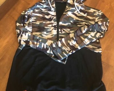 Women s camouflage boutique hoodie new
