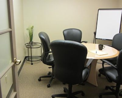Private Meeting Room for 6 at Office Alternatives Westside