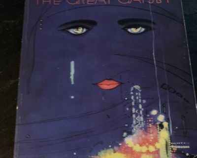 The Great Gatsby by F. Scott Fitzgerald Paperback Classic Like New