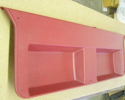 Nos Oem Ford Bronco Ii 2 Interior Hatch Trim Panel Red 1987 1988 1989 1990