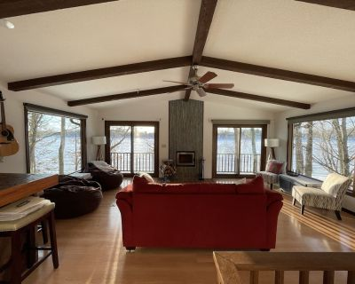Charming Lake House on Cross Lake - only 70 miles from the Twin Cities - Pine City