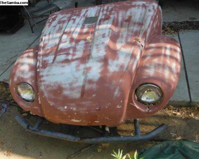 vw baja tilt front end with bumper and lights