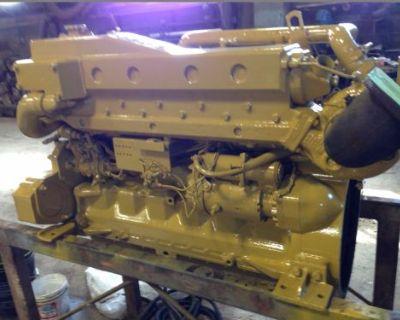 John Deere 6068t 220 Hp Marine Diesel Engine Running Take Out