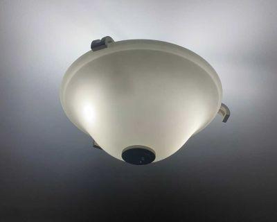 3 bulb light - semi flush mount