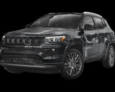 New 2022 Jeep Compass Trailhawk 4WD Sport Utility