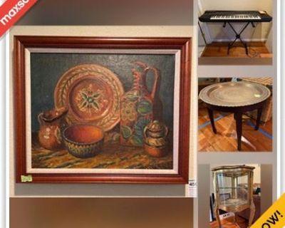 San Jose Estate Sale Online Auction - Cooper River Drive (CONDO)