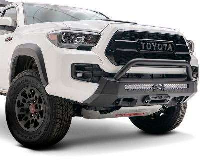 Newly-released Hidden Winch Mount Bumper by Fab Fours at CARiD