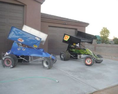 Sprint Car 2 Xxx Rollers 1max Chassis 2ascs Engines Extra Parts