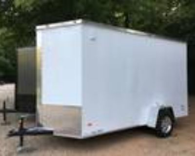 """6ft X 12ft Enclosed Cargo Trailer, Alloy Wheels, 7ft 2"""" Tall Inside Height!"""