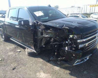 Salvage Black 2020 Chevrolet Silverado 1500