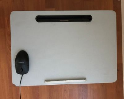Foldable Laptop Table, Bed Desk, Breakfast Serving Bed Tray, Portable