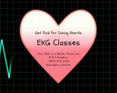 Become an (EKG/ECG) technician only in 4 weeks!