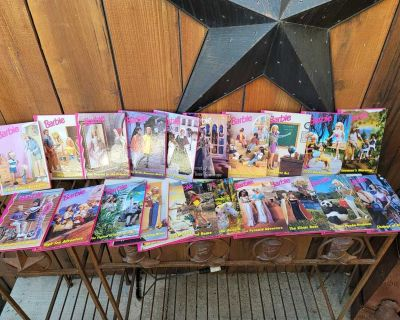 (21) COLLECTABLE BARBIE BOOKS