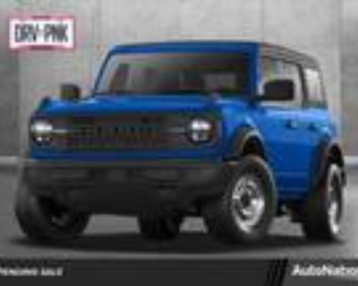 2021 Ford Bronco Blue, new