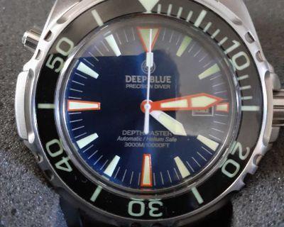 Deep blue depthmaster 3000 dive watch