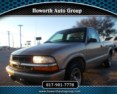 Used 1998 Chevrolet S10 Pickup Reg. Cab Short Bed 2WD