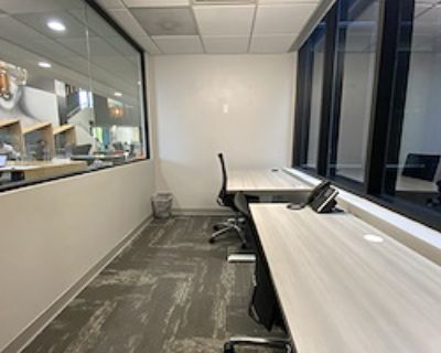 Private Office for 2 at Downtown Works San Diego