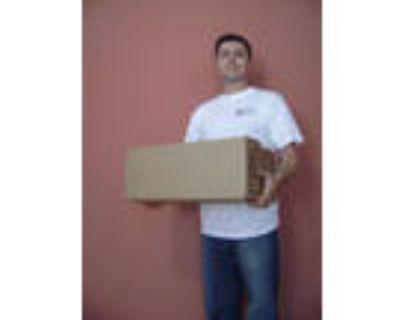 """Narrow Box - 18-23"""" (New, Plain, 18x8x7)"""