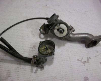 Honda Atc 110 Atc110 Carburetor Petcock Carb Assembly With Fuel Valve Atc 110