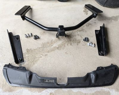 2019-2021 Acura RDX Towing Hitch with Trim Cover (OEM)