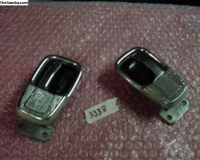 Pair Door Opener Handle And Cover Plates