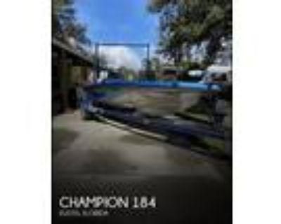 18 foot Champion 184 Fish _ Ski 2020 Rebuild Fr
