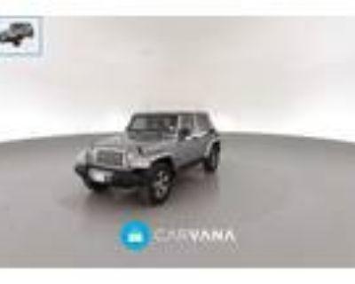 2017 Jeep Wrangler Silver, 80K miles