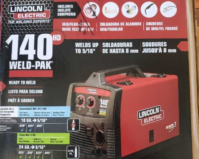 Lincoln Electric 140 HD weld-pak (Brand new)