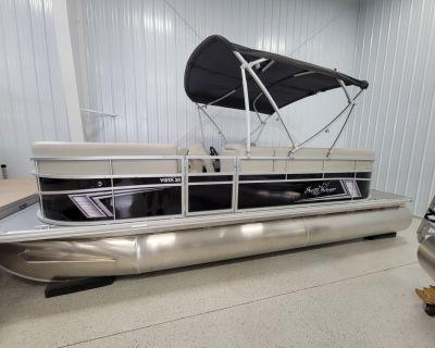 2022 SunChaser VISTA 20 LOUNGER Pontoon Boats Kaukauna, WI