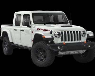 New 2021 Jeep Gladiator Mojave 4WD Crew Cab Pickup