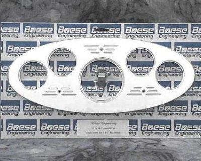 33-34 Plymouth Billet Aluminum Gauge Panel Dash Insert Instrument Cluster