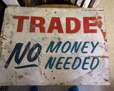 Vintage warehouse sale