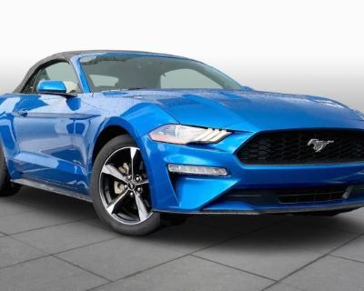 Pre-Owned 2019 Ford Mustang EcoBoost Rear Wheel Drive Convertible