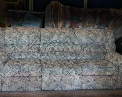 Double Recliner Sofa
