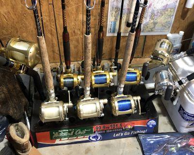 Custom Rod Lot W/Avet s