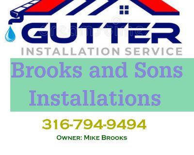 Seamless Gutter Installations