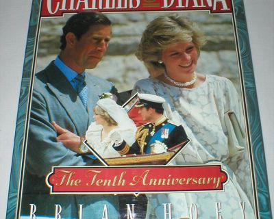 Princess Diana & Charles Tenth Anniversary - First Edition - 1991 - HC